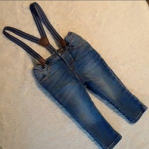5/$20sale Suspender Jeans Oshkosh baby bgosh